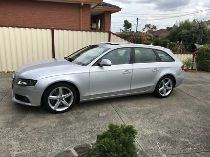 Audi A4 wagon MY10