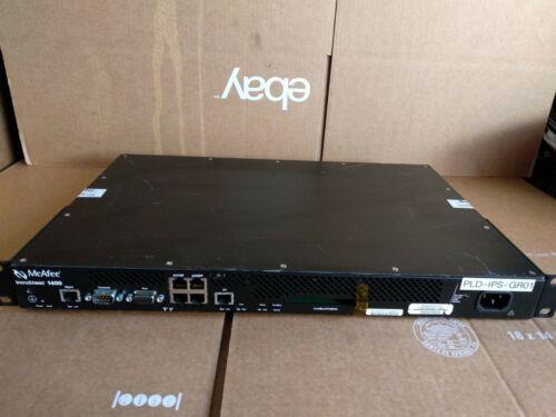McAfee IntruShield I-1400 4-Port 200Mbps IPS Firewall Network Security Platform