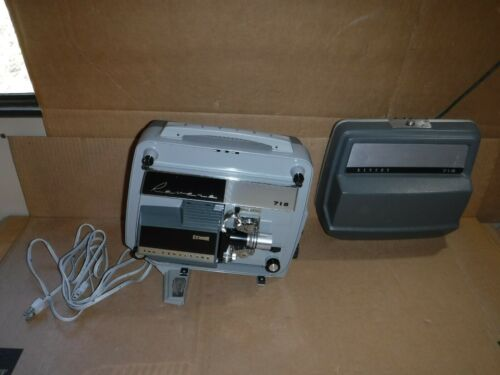 VINTAGE REVERE MODEL 718 8MM MOVIE PROJECTOR