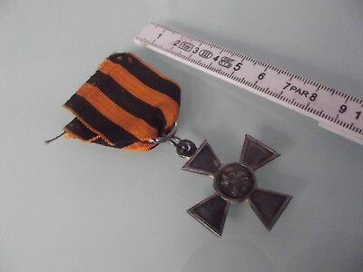 (l92) Orden Russland St. Georgs Kreuz Nr. 625379 Belgischer Soldat ACM-Korps