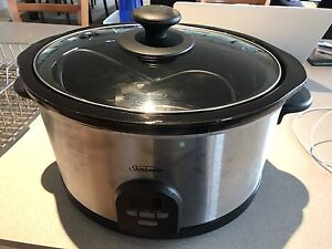 Sunbeam Slowcooker - AS NEW Sandy Bay Hobart City Preview