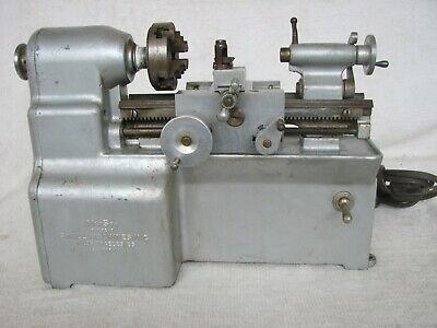 Vintage Manson Small Machines Inc. Small Metal Lathe Machinst Watchmaker Hobbist