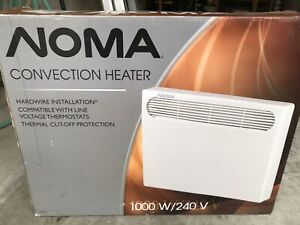 Noma 1000w convection heater