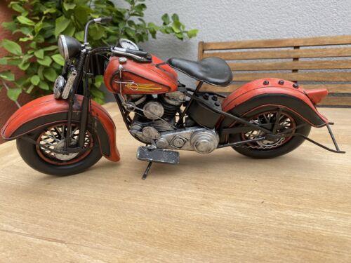 BlechMotorrad Harley Davidson ca 40 cm lang, 20 cm hoch