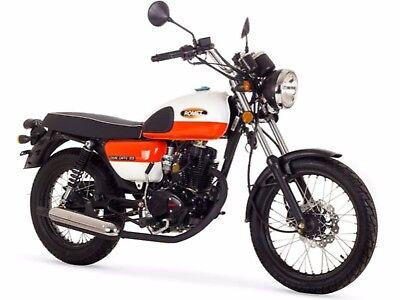 ROMET OGAR CAFFE 125 Naked Bike 125ccm 4-Takt NEUFAHRZEUG 2 Farben SUPER ANGEBOT