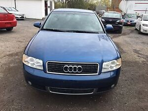 2004 AUDI A4 1.8L REMOTE STARTER, SAFETY IS INCUDING THE PRICE