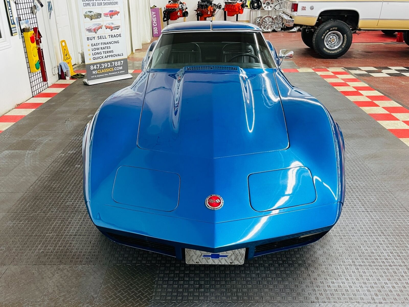 1973 Blue Chevrolet Corvette Coupe  | C3 Corvette Photo 5