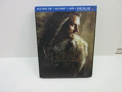 The Hobbit: Desolation of Smaug Blu-ray 3D only. Includes