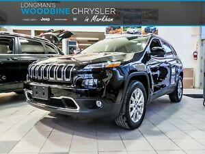 2016 Jeep Cherokee Limited/Navigation/Sunroof