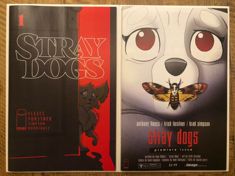 Stray Dogs #1🔥 UNREAD - A & B Cover Set - 2021 Image Comics - Sold Out