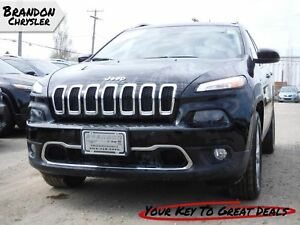2017 Jeep Cherokee Limited ~ Adaptive Cruise Control, Sunroof!
