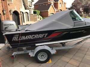 Alumacraft Dominator 165 with Honda 4 stroke 90hp