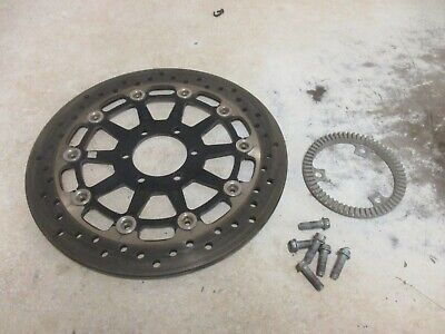 2013 VICTORY CROSS COUNTRY ABS REAR BRAKE ROTOR BACK RING STOCK OEM -4039