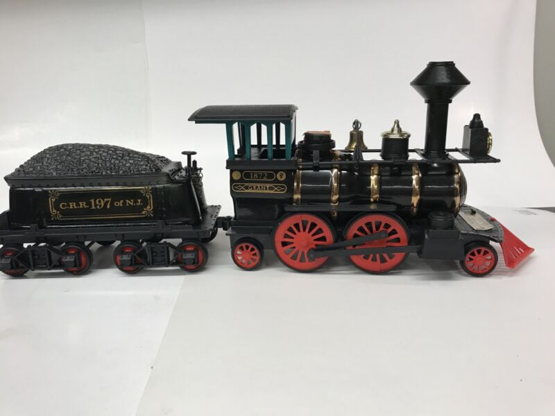 Vintage Jim Beam Whiskey Ceramic Decanter Train Set of 4