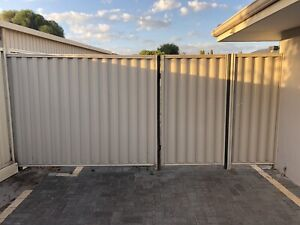 Colourbond Gate & Fence with frame and posts