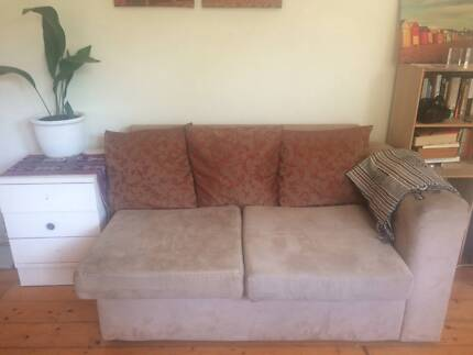 Small beige two seater couch Coogee Eastern Suburbs Preview