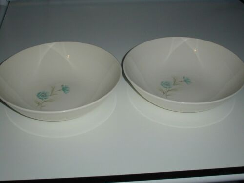 "2 Vintage Taylor Smith &Taylor Ever Yours Boutonniere 9"" Vegetable Serving Bowls"