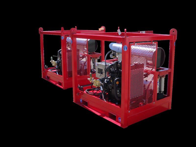 Diesel Pressure Washer Custom Hot Water Mitsubishi  4K 2.8GPM