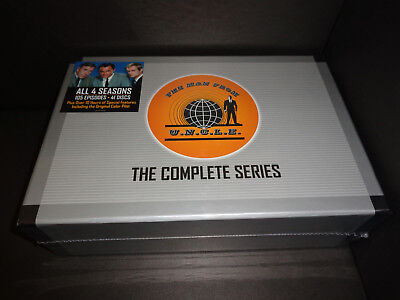 The Man From Uncle Complete Series  Robert Vaughn   David Mccallum Battle Crime