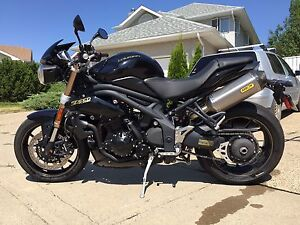 2014 Triumph Speed Triple Street Fighter