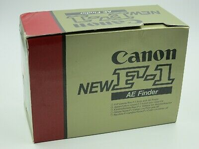 Canon New F-1N 35mm SLR Film Camera AE finder