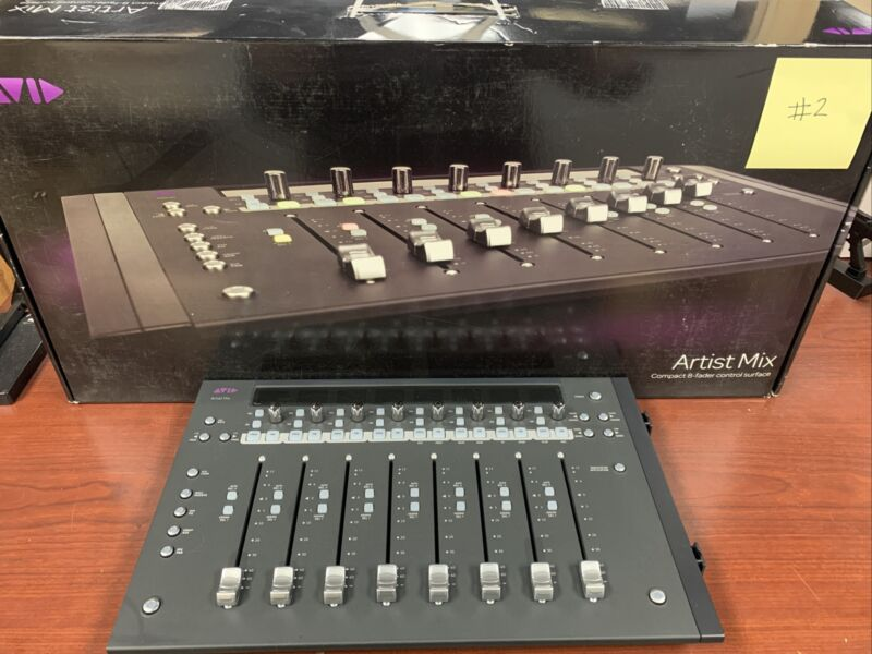 Avid Artist Mix Compact 8 Fader Control Surface