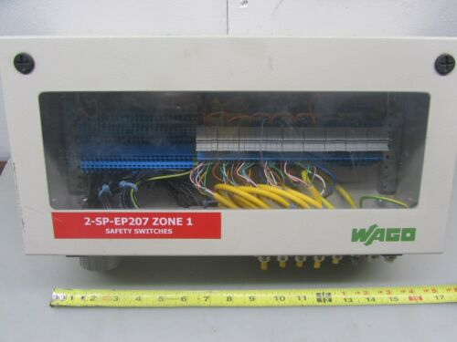 WAGO IP65 ALUMINUM INCLOSURE, USED