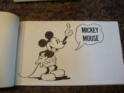 Mickey Mouse Disney Rare hardcover 1971 Italian print Collana Grandi Avventure