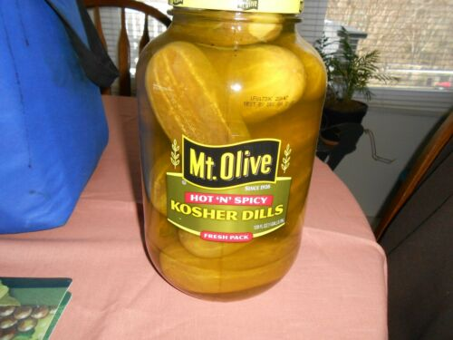 1 Gallon Mt. Olive Hot & Spicy Dill Pickles