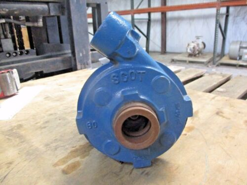 SCOT 1 X 1-3/4 IRON PUMP W/WEG 1.5 HP MOTOR, #10221048J NEW
