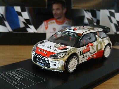 Citroen ds3 WRC Rally Monte Carlo  loeb 2013   1//43 ixo eaglemoss