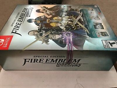 Fire Emblem Warriors Special Edition Collectors Edition Nintendo Switch New