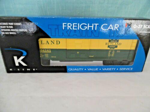 K-Line K640-4161 Rutland BoxCar O/O27 Gauge Freight Car