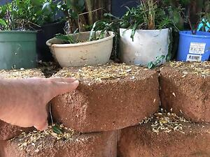 Retaining wall link blocks Bayview Heights Cairns City Preview
