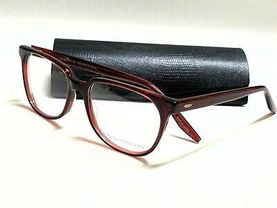 New Authentic BARTON PERREIRA NOVAK Sienna Brown 54/17/140 (Barton Eyeglasses)