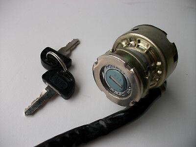 NEW SUZUKI IGNITION SWITCH BARREL KEYS TS50 ZR50 KEYS 10 WIRE