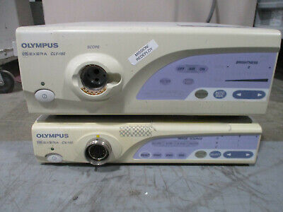 Olympus Cv-160 Clv-160 System Processor And Light Source Keyboard