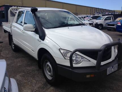 2011 Ssangyong Actyon Sports Ute