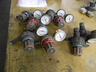Used Set Airco Heavy Duty Oxygen Acetylene Regulators
