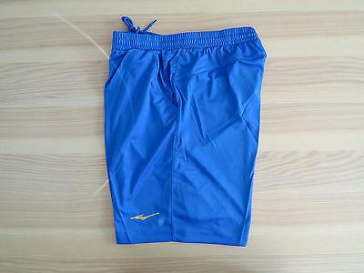 Shorts Erke Sport Kurzhose Short Jogging Tennis Laufshorts Fußball Fitness Blau