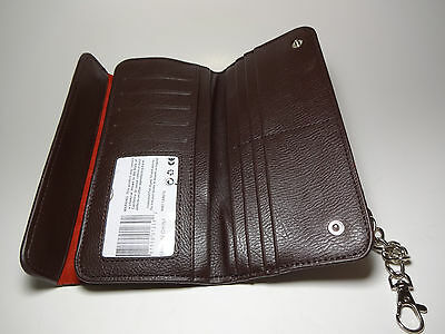 True Gear Brown Leather Biker/Deliveryman Chain Wallet-10 CardS,ID-Second-#1-239