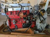 Volvo Penta B20 AQ 130 C 270 T Motor New- Never Used with Outboard Drive New