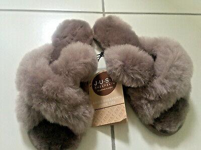Just sheepskin Ladies Daisy Sheepskin Slider slippers size 5-6 BNWT