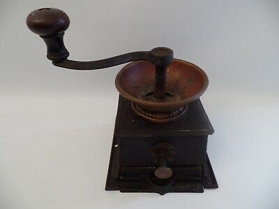 ANTIQUE COFFEE GRINDER BY T & C CLARK & CO WEST BROMWICH