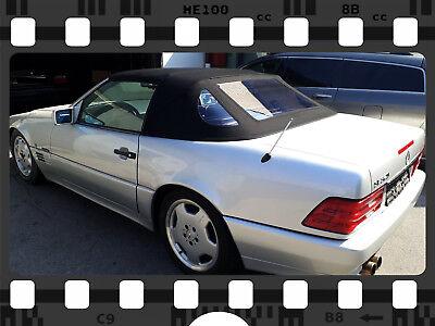 Mercedes SL R129 Verdeck Cabrioverdeck Neu Sonnenland Plus! schwarz TOP QUALITÄT