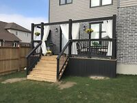 Quality Fences and Decks! Professional Contractor Book Now!