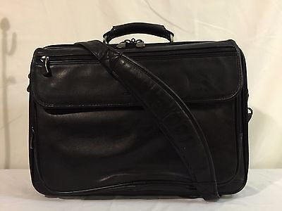 Kenneth Cole New York Leather Carry On Duffel Messenger Bag Luggage Weekender  (Kenneth Cole New York Luggage)