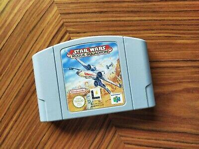Star Wars Rogue Squadron Cartucho Nintendo 64 N64 PAL Envio Combinado