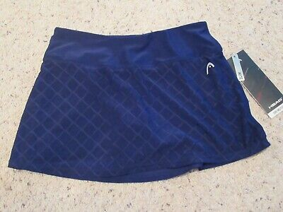 8acab1c789 HEAD Womens Diamond Jacquard Skort Skirt Tennis Golf XS (Girls L)