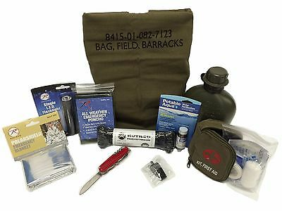 72 Hour Emergency Disaster Survival Kit - Zombie Apocalypse Prepper Bug Out Bag
